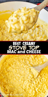 best creamy stove top mac and cheese