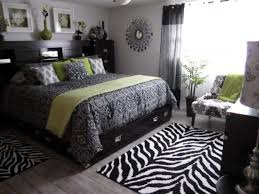 ... White And Black Amazing Black And And Green Bedroom Black ...