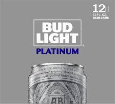 Bud Light Platinum Font Bud Light Platinum Beer 12 Pack Beer 12 Fl Oz Cans