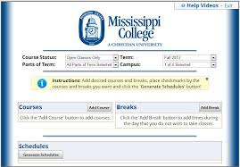 Make College Schedule Online Schedule Planner A New Way To Make Your Class Schedule