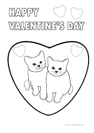 Kitten Coloring Pages For Kids At Getdrawingscom Free For