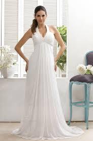 halter top wedding dress. picture: dresswe.com supplies plain empire halter top court train taline\u0027s wedding dress dresses 2016