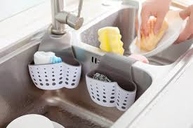 Saddle Kitchen Plastic Sink Storage Caddy Al906 Airlen Housewares
