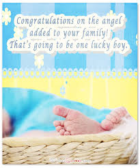 New Baby Congrats Baby Boy Congratulation Messages With Adorable Images