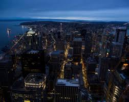 city nightscape etsy