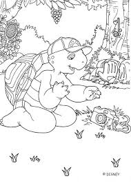 Small Picture Franklin with camera coloring pages Hellokidscom