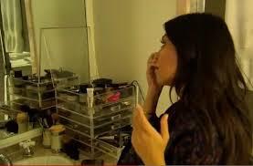 kardashian acrylic makeup organizer
