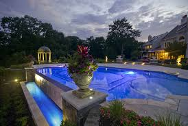 custom swimming pool designs. Infinity Edge Swimming Pool Custom Designs I