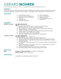 Office Admin Resume Samples Best Office Administrator Resume Example Livecareer
