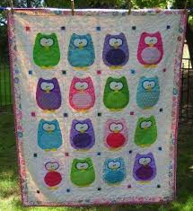 Baby Quilt Designs The Hoots Owl Baby Quilt Pattern By Amy Bradley Designs