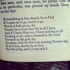 from the book- A Severe Mercy   Quotes   Pinterest   Other Woman ... via Relatably.com