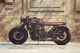 honda cb750 nighthawk cafe racer by overbold motor co bikebound