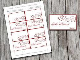 Wedding Table Cards Template Under Fontanacountryinn Com
