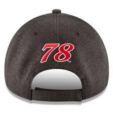 furniture row racing. youth martin truex jr new era heathered black furniture row racing driver 9forty adjustable hat 4 e