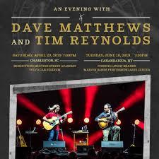 Dave Matthews And Tim Reynolds At Constellation Brands