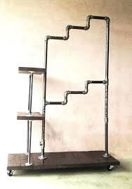 Diy Pipe Coat Rack pipe garment rack housetohomeco 51