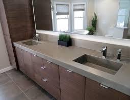 Contemporary Bathroom - Concrete Bathroom Sink | Trueform Decor