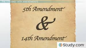 the fourth amendment search seizure video lesson transcript  due process taking the fifth fourteenth amendments