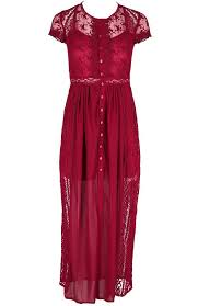 Romance Couture Size Chart Red Grace Dress Long Lace Gown Romantic Dress