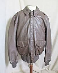 cooper type a 2 usaf men s made in usa leather er flight jacket coat 42