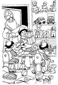 Kids N Fun 38 Kleurplaten Van Sinterklaas