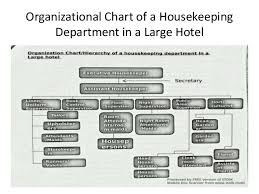 Introduction Housekeeping Organization