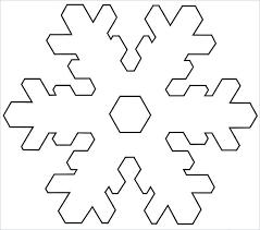 Frozen Snowflake Stencil Printables Stencils 6 Templates Free