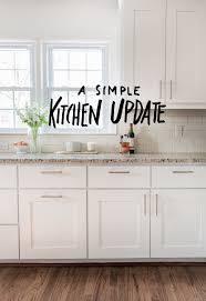 Easy Kitchen Update Easy Kitchen Updates Home Decorating