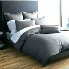 Exotic Queen Bedding Bed Sets For Men Solid Gray Comforter Masculine ...