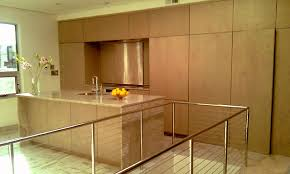 custom modern kitchen cabinets. Custom Built Modern European Style Kitchen Cabinets And Marble Top Bar Island