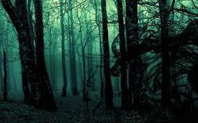 Gothic wallpaper, Forest wallpaper ...