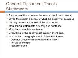 what is a thesis statement in an essay examples essay writing examples of a thesis statement for an essay gxartorg