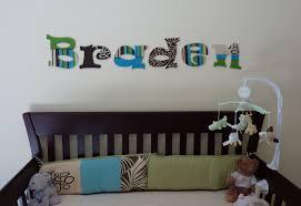 Baby Monogram Wall Decor Home