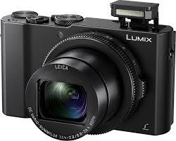 Компактный <b>фотоаппарат Panasonic Lumix DMC</b>-<b>LX15</b>, черный