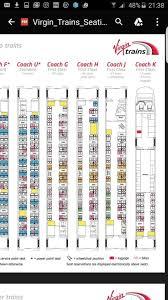 United Center Seating Chart Adele Nice Virgin Trains Pendolino Seating Plan