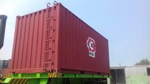 cargo container office. Berikut Ini Kami Tampilkan Container 20 Ft Yang Dimodifikasi Menjadi Flexy Tank Untuk Bahan- Bahan Curah. Cargo Office N