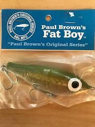 Paul Brown Mirrolure Fat Boy Fishing Bait Boat Lure Color