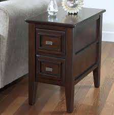 dark wood end tables innovative small dark wood side table side table with drawer ideas dark wood coffee tables with storage