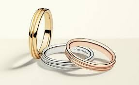 louis vuitton ring. louis vuitton has released a collection of wedding rings - the concept associated ring