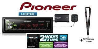 pioneer mvh av290bt. pioneer mvh-s501bs w/ siriusxm sxv300v1 mvh av290bt