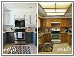 white painted kitchen cabinets before and after. Plain And Interesting Kitchen Cabinets Before And After Inspirational  Remodel Concept With Painted White
