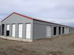 hci steel buildings specializes in custom built metal storage sheds metal storage sheds provide a great outdoor storage units for what ever your needs