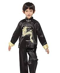 Amazon Com Suimiki Traditional Chinese Dragon Kung Fu Outfit Tang