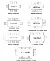 dining table dimensions pertaining to room size for 8x8 seating ideas 7