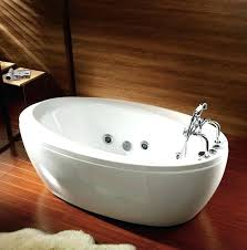 free standing jetted bathtub free standing