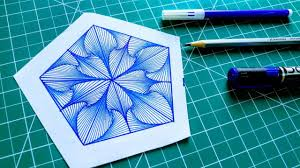 How To Draw Single Pattern Design How To Draw Single Pattern Design Design 3 Rainbow Art By Radhapada Manna