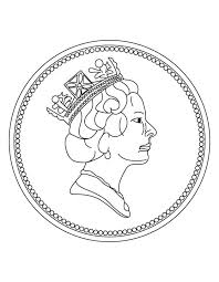 Small Picture New one penny coin coloring page Download Free New one penny