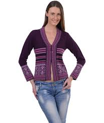 Sportking Aubergine Color Sweater For Women ...
