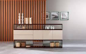 buffet sideboard with glass doors black wood sideboard buffet
