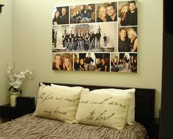decoration canvas family photo wall art collage design for bedroom ideas 17 family photo